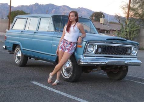 jeep wagoneer dr   barn find rust  survivor