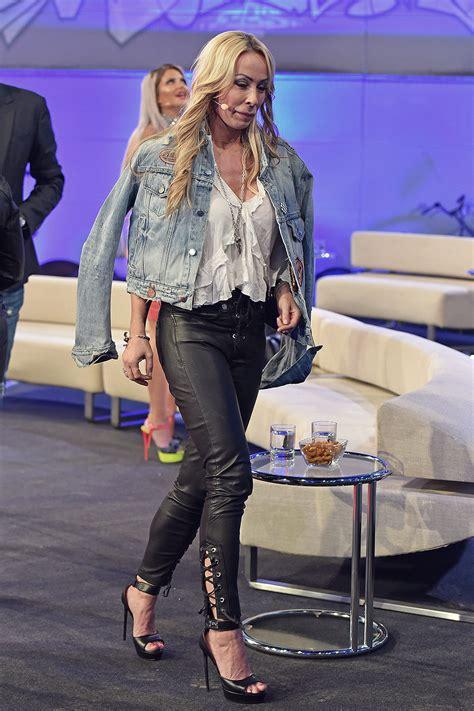 cora schumacher attends finale der sat tv show promi