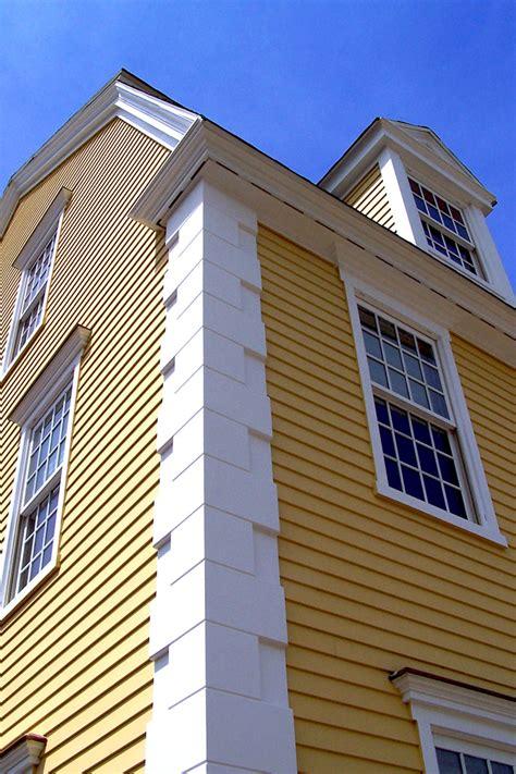 Exterior Trim & Siding  Colonial Exterior Trim And Siding