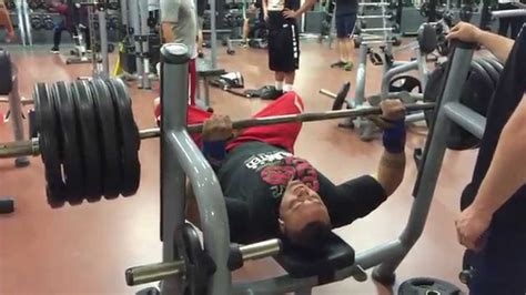How Many Reps For Bench Press by 495 Pound Bench Press For Reps