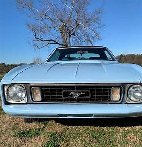 1st generation classic light blue 1973 Ford Mustang For Sale - MustangCarPlace