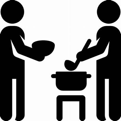 Feeding Icon Svg Eat Vector Eating Cooking
