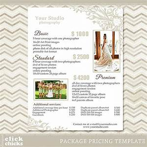 photography package pricing list template wedding packages With basic wedding photography packages