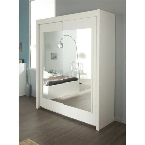 armoire porte coulissante blanche images