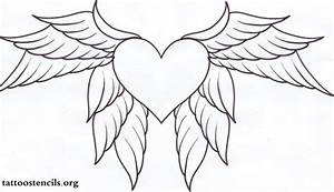 Graffiti Drawings Of Hearts With Wings - Drawing Of Sketch