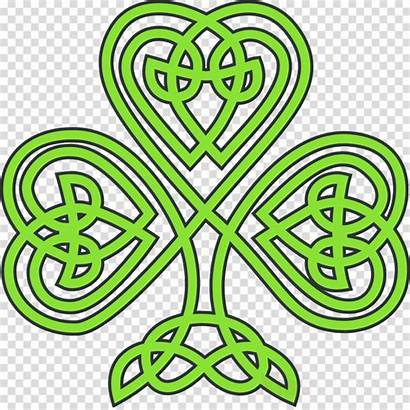 Celtic Shamrock Knot Clipart Clip Transparent