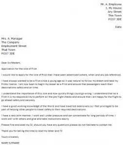 sle pilot resume cover letter pilot cover letter exle icover org uk