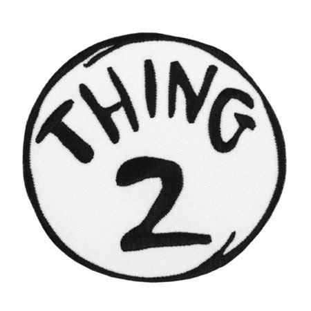 thing one t shirt template indiana jones dr seuss thing 2 embroidered patch