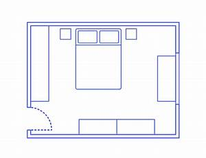 Bedroom Layouts Dimensions  U0026 Drawings