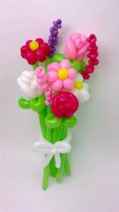 Daisy, Rose, Stalk Flower Balloon Bouquet BALLOON