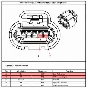 Gm Maf Sensor Wiring Diagram  Gm  Free Engine Image For