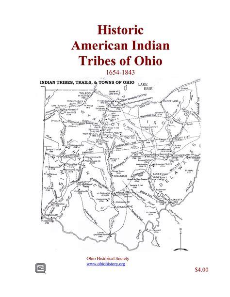 Historic American Indian Tribes Of Ohio Ohio History