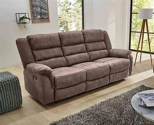 Sofa Mit Relaxfunktion : sofa in grau braun relaxfunktion 3 sitzer kaufen bei ~ A.2002-acura-tl-radio.info Haus und Dekorationen