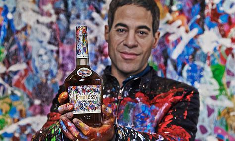 hennessy taps artist jonone  limited edition bottle series