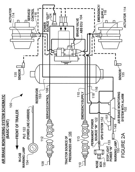 Tractor Trailer Air Brake System Diagram Untpikapps