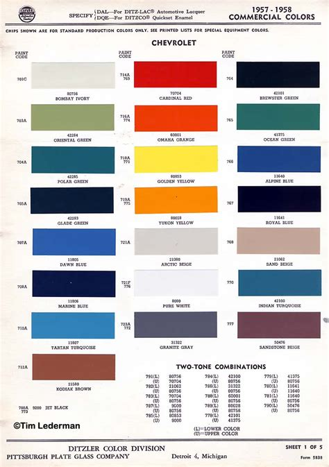 what color was available for 1957 truck trifive 1955 chevy 1956 chevy 1957 chevy forum - Truck Paint Colors
