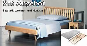 Bett 140x200 Inkl Matratze Und Lattenrost : set angebot alpina bett inkl lattenrost und matratze ~ Markanthonyermac.com Haus und Dekorationen