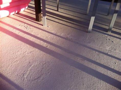 Textured Concrete Paint bubbling?   DoItYourself.com