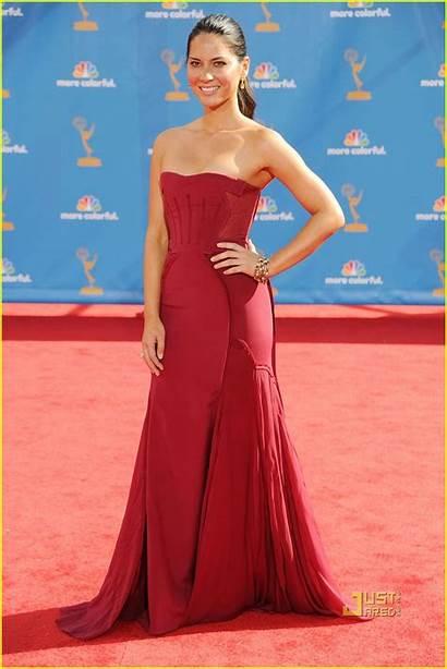 Olivia Munn Carpet Emmy Emmys Awards Feshion