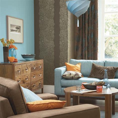 blue orange living room bold blue and orange living room decorating with contrasting colours housetohome co uk