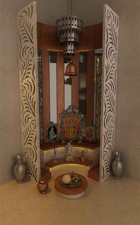 Home Temple Interior Design by Simple Pooja Mandir Designs Pooja Mandir Room Design