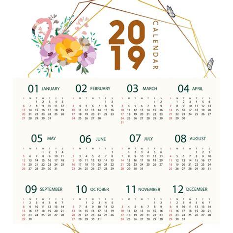 flamingo calendar flamingo calendar floral png vector