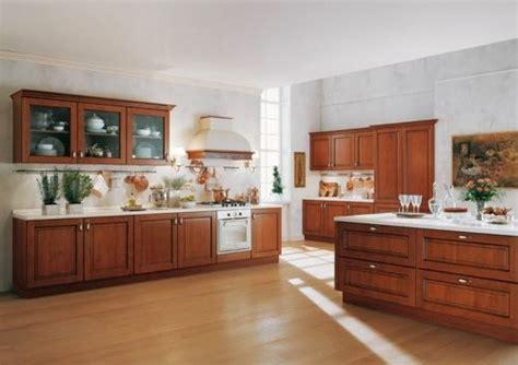 como decorar una cocina  madera maciza