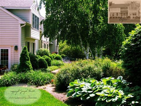 front yard plantings brick walkway traditional