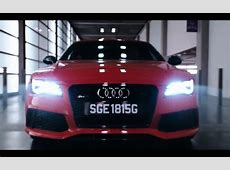 Red Audi RS7 – Hitman Agent 47 2015 Movie