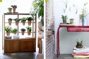 cinq idees pour mettre en scene vos plantes d39interieur With meuble plantes d interieur
