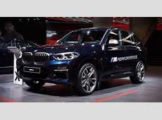 Der BMW X3 M40i auf der IAA
