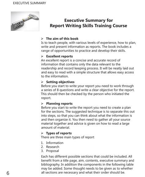 report writing course report writing skills course