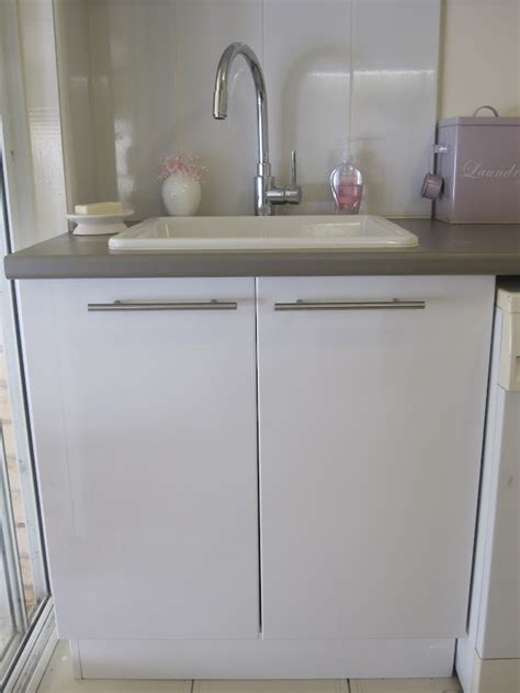 Laundry Cupboards Flat Pack by Cassadiva My New Laundry Base Cabinet Organisation