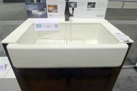top mount apron sink new top mount self trimming apron front sink by kohler