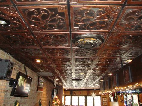 faux tin ceiling projects decorative ceiling tiles