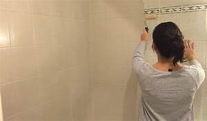 Salle De Bain Avant Après : r novation salle de bains repeindre le carrelage plut t que de le casser ~ Preciouscoupons.com Idées de Décoration