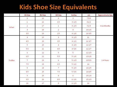 children shoe size chart google search kid stuff