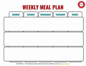 3 meal day care weekly menu template mon fri day care With weekly lunch menu template