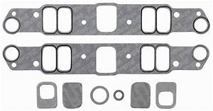 Gaskets  Intake Manifold  Edelbrock  Pontiac 326