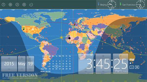 world astro clock light windows phone app market