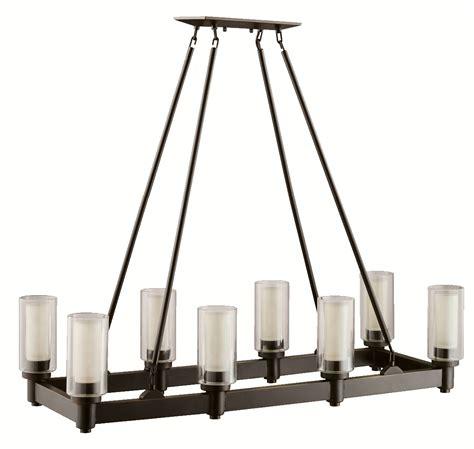 kichler 2943oz circolo rectangular chandelier