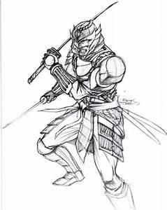 Samurai Ancient Drawing | www.imgkid.com - The Image Kid ...