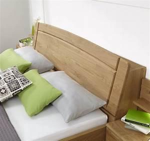 Lampe Bett Kopfteil : bett mit stauraum im kopfteil im landhausstil quebo ~ Lateststills.com Haus und Dekorationen