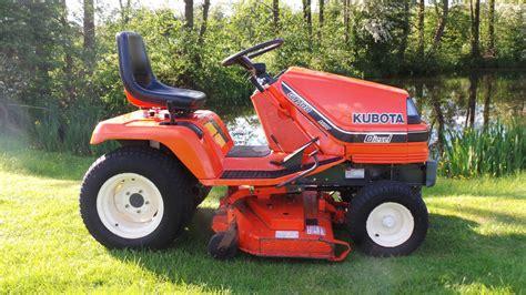 kubota garden tractor kubota ride on lawn mower g1700 diesel hst garden tractor
