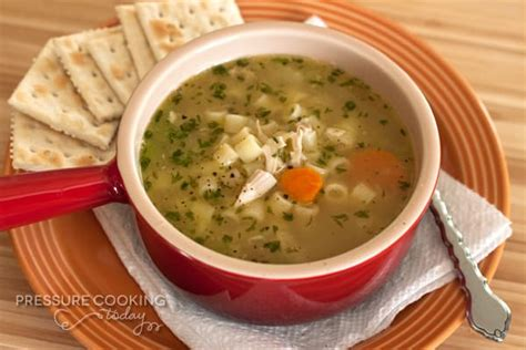 chicken noodle soup cooker pressure cooker chicken noodle soup recipe barbara bakes