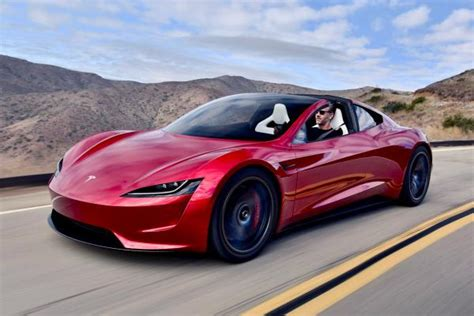 New 2020 Secondgeneration Tesla Roadster Hits The Road