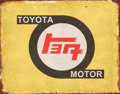 my toyota sign up toyota old logo tin sign mainly nostalgic retro tin
