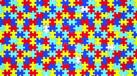 Puzzle Pieces Fit Together Background Solution 3 D ...