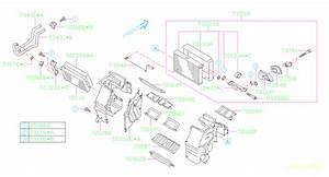 2018 Subaru Forester Packing Heater Unit  Core  Make