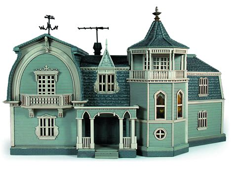 munsters house mar142113 munsters house finished model kit previews world